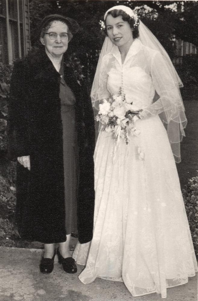 Henia  with Mrs Blackler