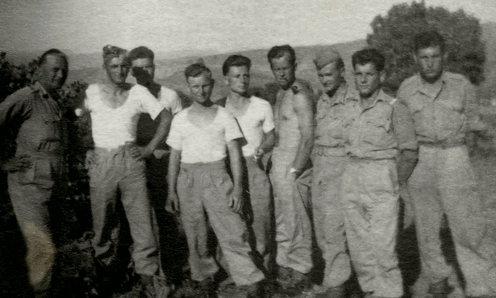 Group at Polish army  training camp, Iraq