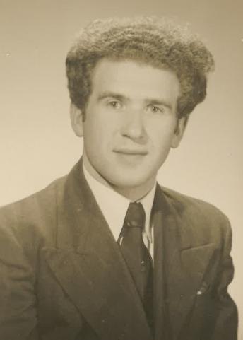 Bronisław  Bojanowski, civilian circa 1947