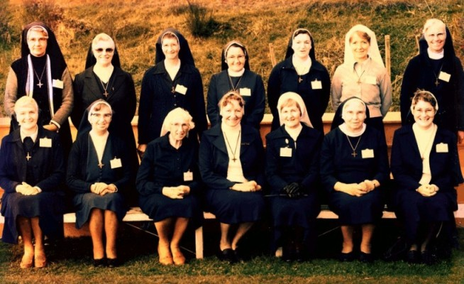 Nun group 75th  Jubilee 1981