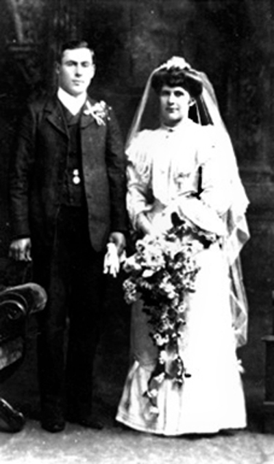 Albert and  Martha's wedding