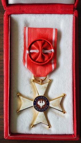 Eleonora's Krzyż  Oficerski Orderu Odrodzenia Polski