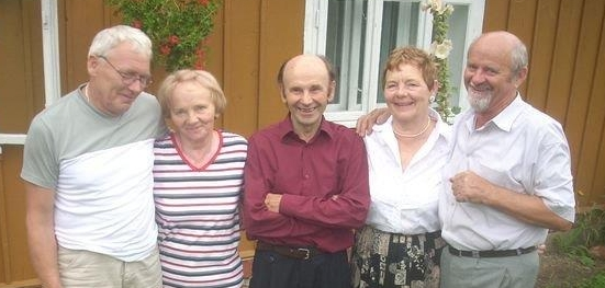 The five Wojtyga  siblings in 2010