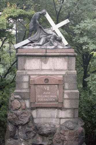 Station of the Cross no.7 in Częstochowa