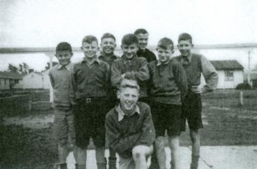 Joe's group of  friends