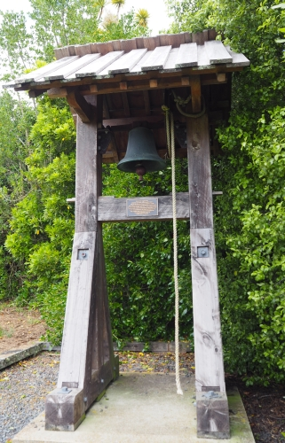 The new church bell-tower