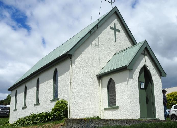 The church at Broad Bay
