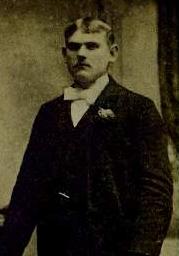 A blurry studio pic  of Joseph Kowalewski as a young man