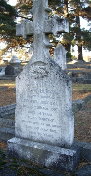 Headstone of Joseph  and Dorothy Boloski