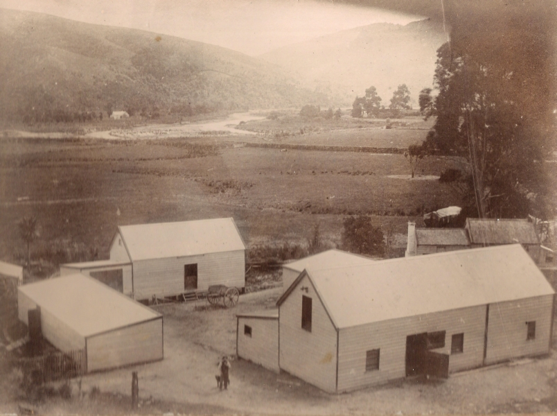 The  woolsheds built by August Orlowski senior