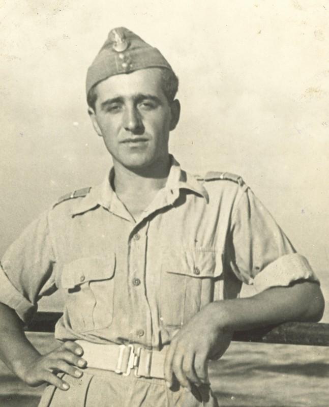 Władysław  Piotrkowski as a soldier