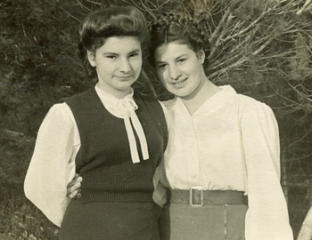 Urszula and Celina Gawronek in England