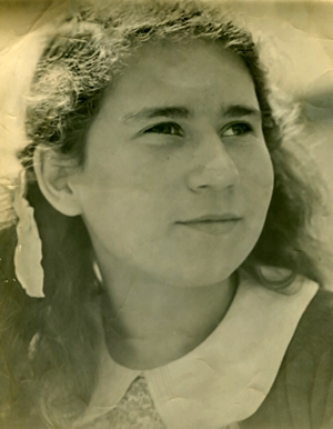 Stasia Kennedy,  about 12-years-old