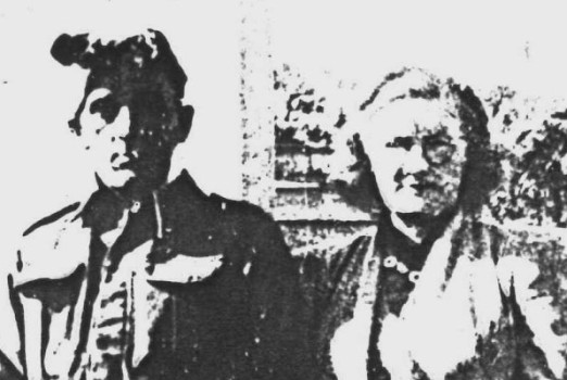 Ethelda and  Walter Moran