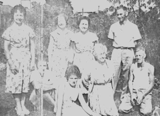 Adult children of  Ernest Voitre