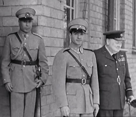 Mohammed Reza  Shah Pahlavi, with Churchill at Tereran