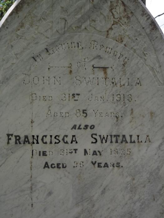 Switala  headstone