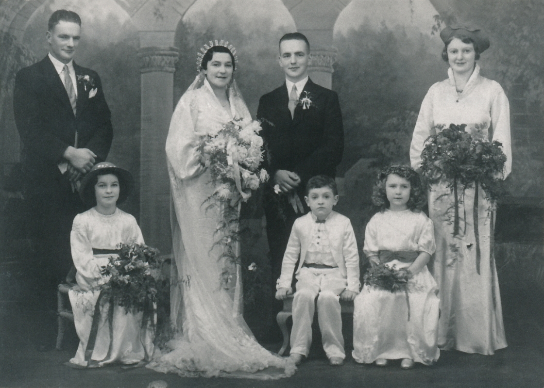 James Bungard and Norah Flynn wedding