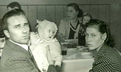 Błażków family  circa 1951