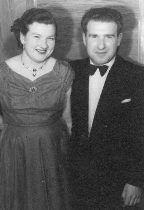 Bronisław and Daniella Bojanowski, at a Polish dance