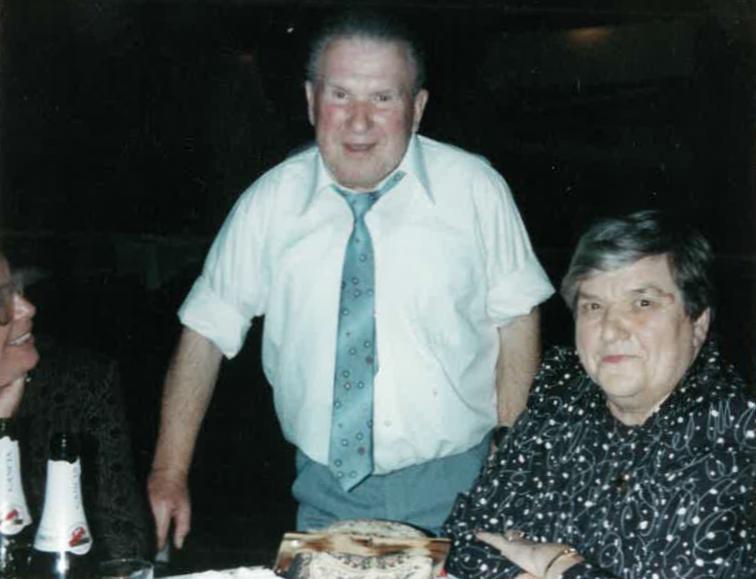 Bronisław and  Daniella Bojanowski, at a 'speial' celebration