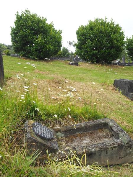 Place where Anna Ciepielusz's grave should be