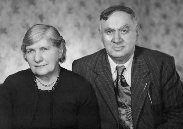 Albert and  Martha 50th wedding anniversary