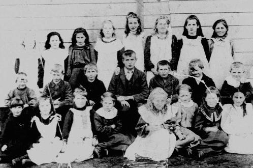 Durham Road School pupils 1898