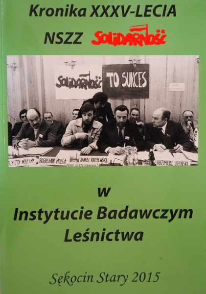 Front cover of the  Kronika magazine at the IBL
