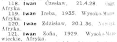 A blurred black and white  image of the four siblings' names.