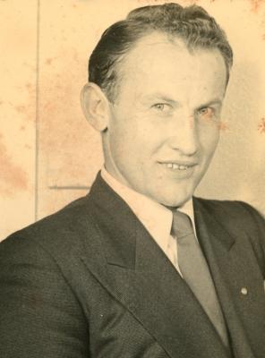 A young Jan Jarka, circa  1949-1950