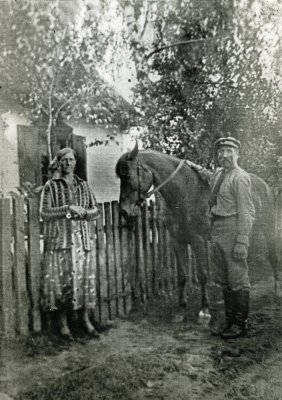 Old Polish farm