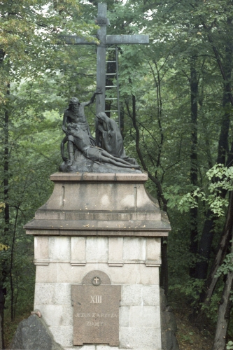 Station of the Cross no.13 in Częstochowa