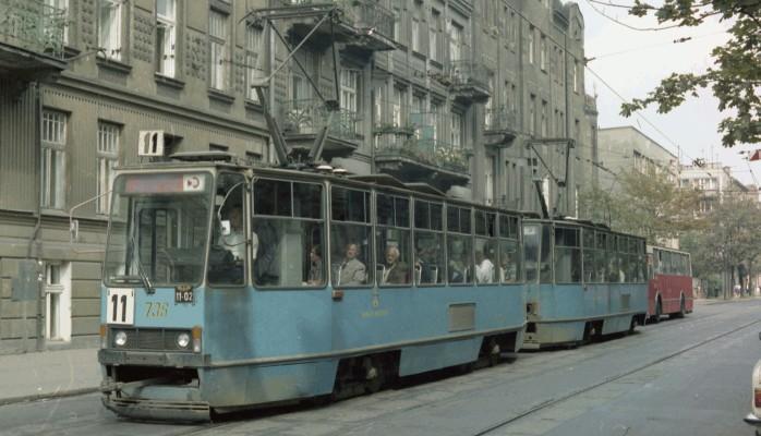 Full Polish tram
