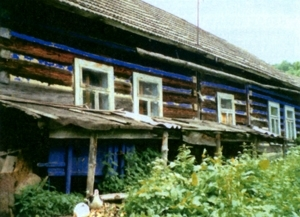 House where Joe  Jagiełło was born.
