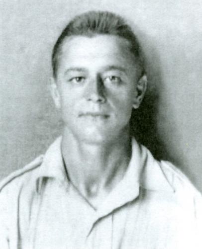 ID photograph of  Franciszek Jagiełło.