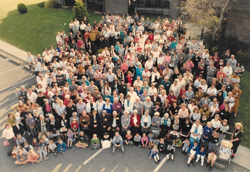 Crofskey family reunion 1990.