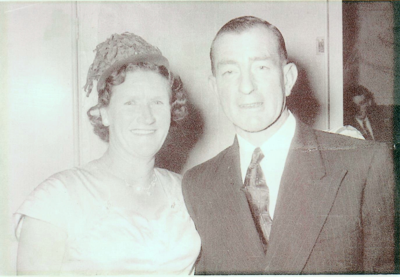 Alex and Margaret at a  function in later years