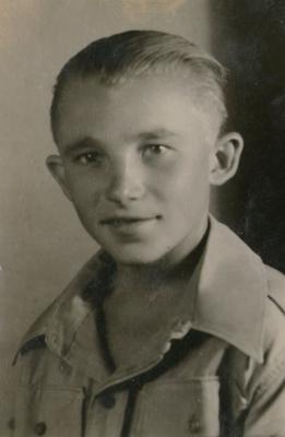 Bogdan Marchewa in  junaki uniform