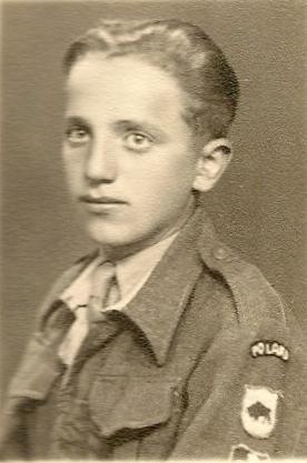 Zdzisław  Nieścior in junak uniform