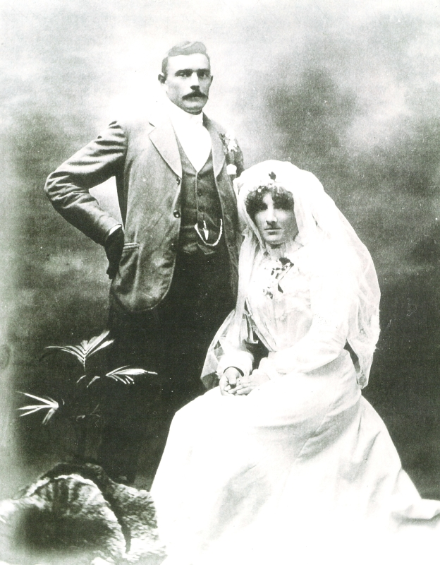 A wedding  photograph