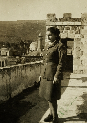 Urszula Gawronek in  Tiberias