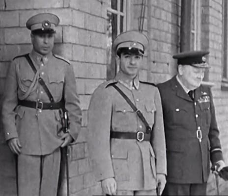 Mohammed Reza  Shah Pahlavi, with Churchill at Tereran
