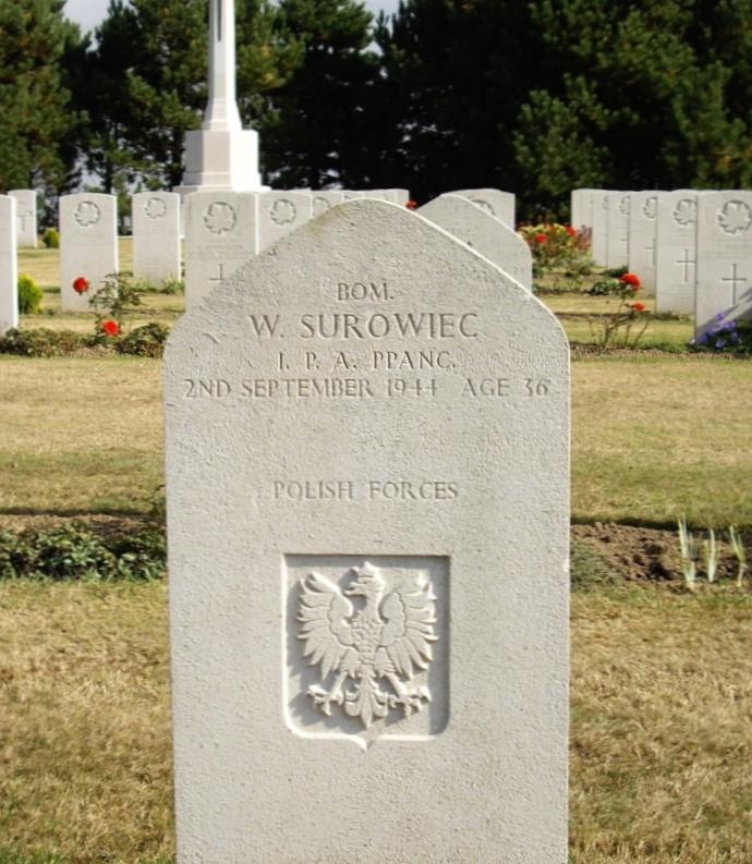 Wladyslaw Surowiec headstone